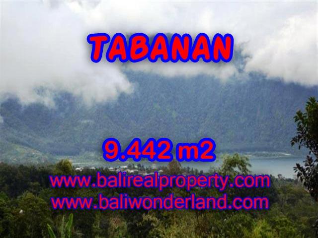 Land for sale in Tabanan Bali, Fascinating Mountain and lake view in TABANAN BEDUGUL Bali – TJTB081