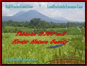 Exotic LAND SALE IN Tabanan Penebel BALI TJTB175