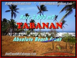 FOR SALE 3.000 m2 LAND IN TABANAN TJTB168
