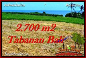Tabanan Selemadeg BALI LAND FOR SALE TJTB286