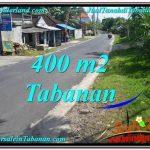 Exotic Tabanan Kota BALI LAND FOR SALE TJTB296